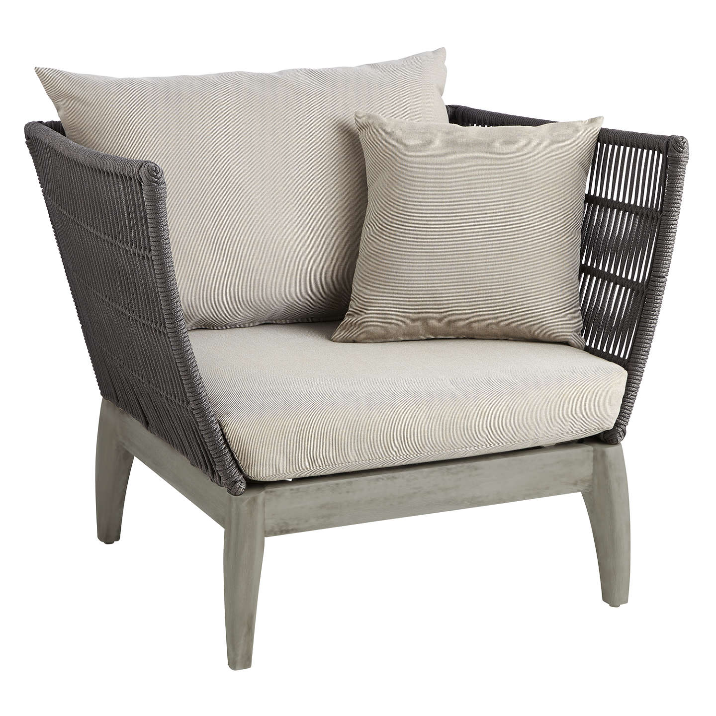 Superbe BuyJohn Lewis Ariel Outdoor Lounging Armchair Online At Johnlewis.com ...