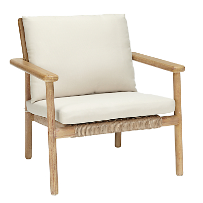 John Lewis Croft Collection Islay Lounging Armchair, Natural