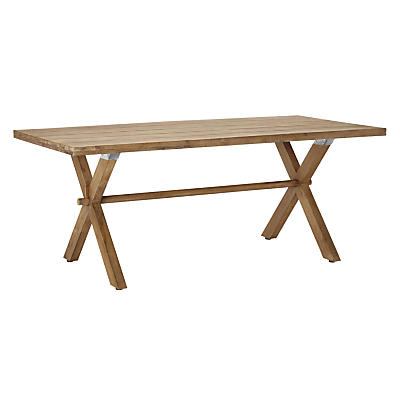 Croft Collection Islay 6-Seater Dining Table, FSC-Certified (Eucalyptus), Natural
