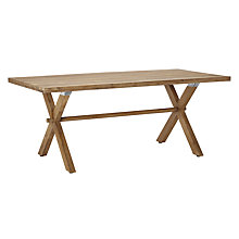 Buy John Lewis Croft Collection Islay 6-Seater Dining Table, FSC-Certified (Eucalyptus), Natural Online at johnlewis.com