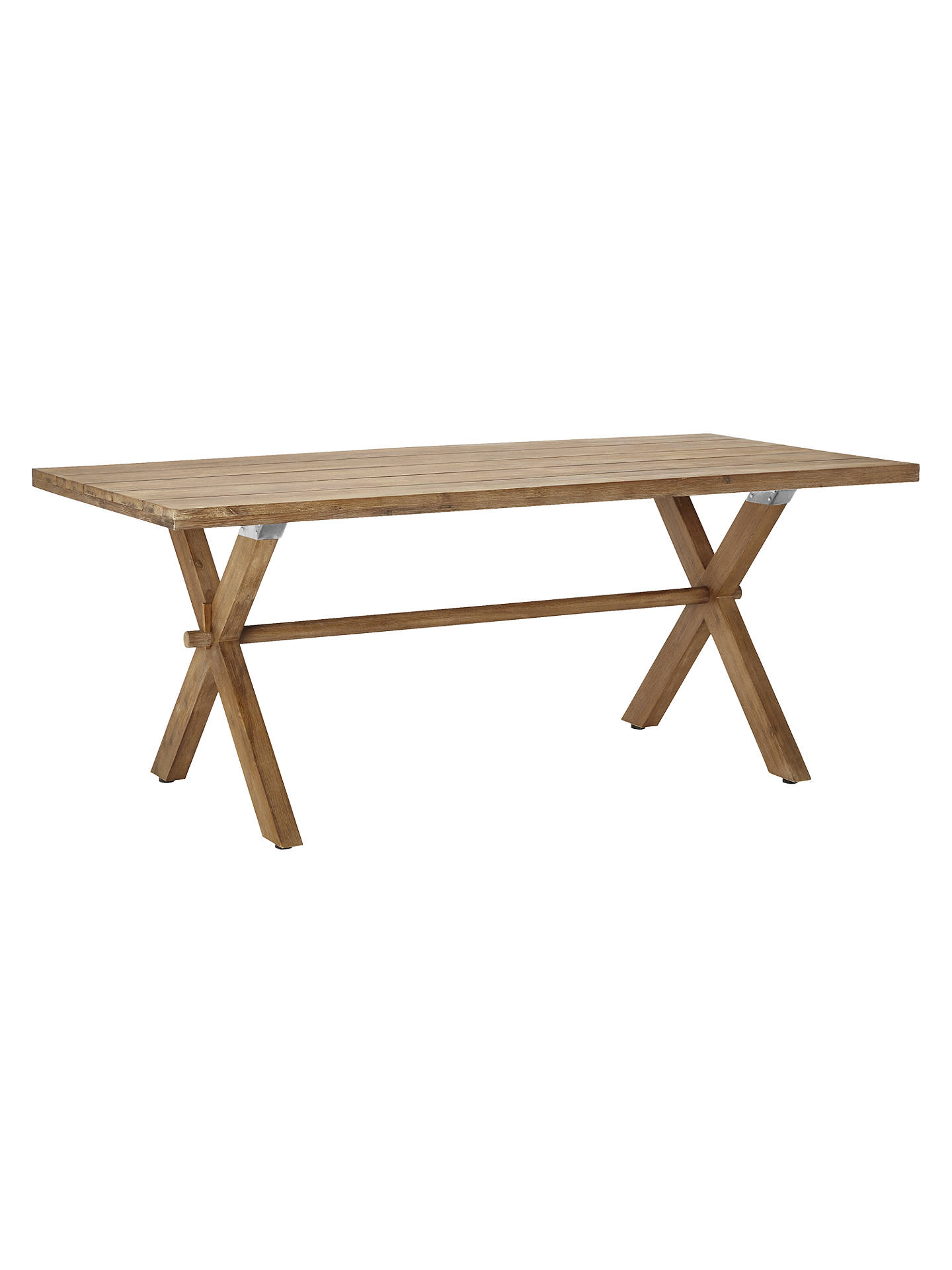 Buycroft collection islay 6 seater dining table fsc certified eucalyptus