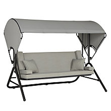 Buy John Lewis Henley by KETTLER Outdoor Swing Seat, Grey Online at johnlewis.com
