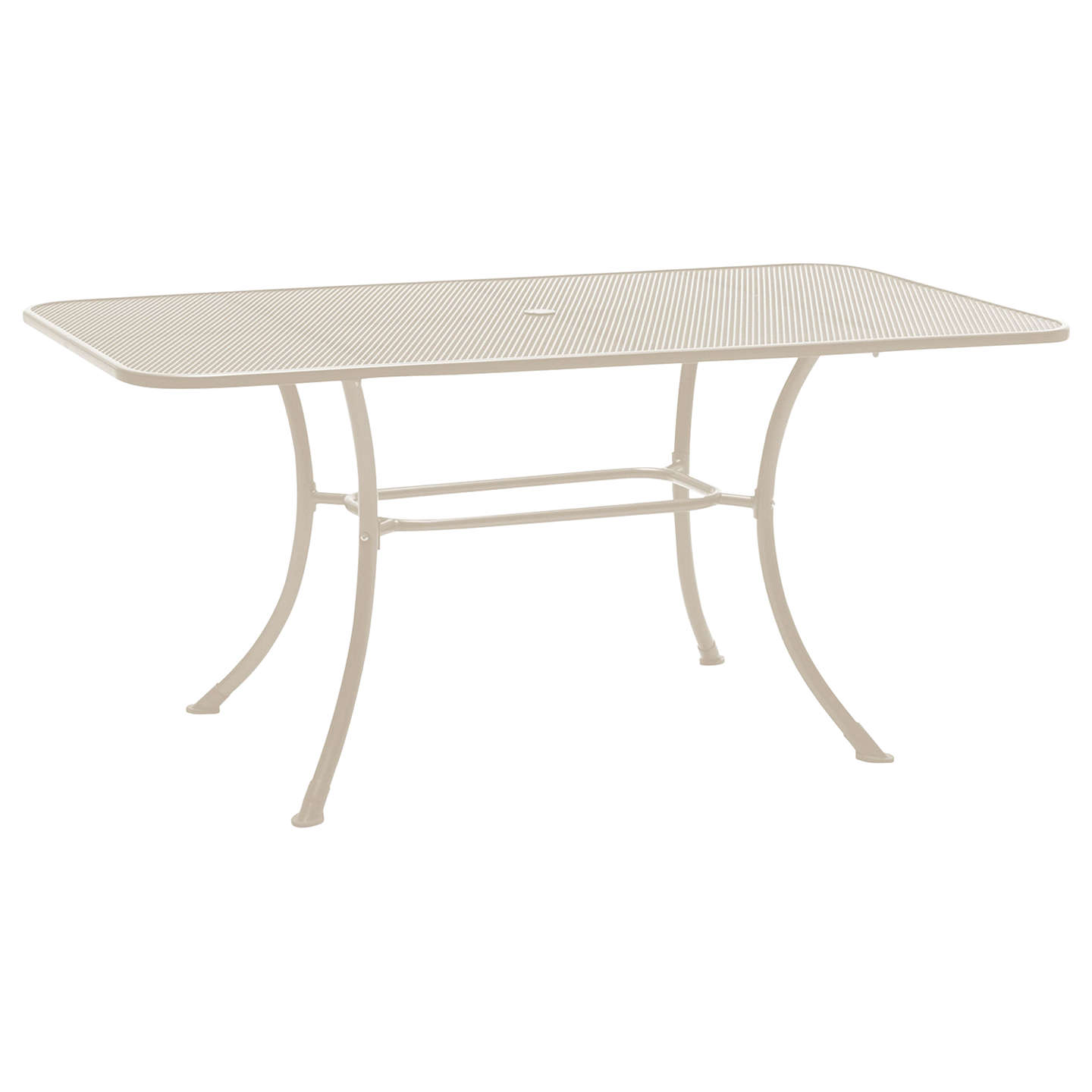 BuyJohn Lewis Henley by KETTLER 6-Seater Rectangular Garden Dining Table, Mocha Light Online at johnlewis.com