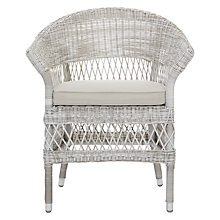 Buy John Lewis Hera Wicker Armchair Online at johnlewis.com