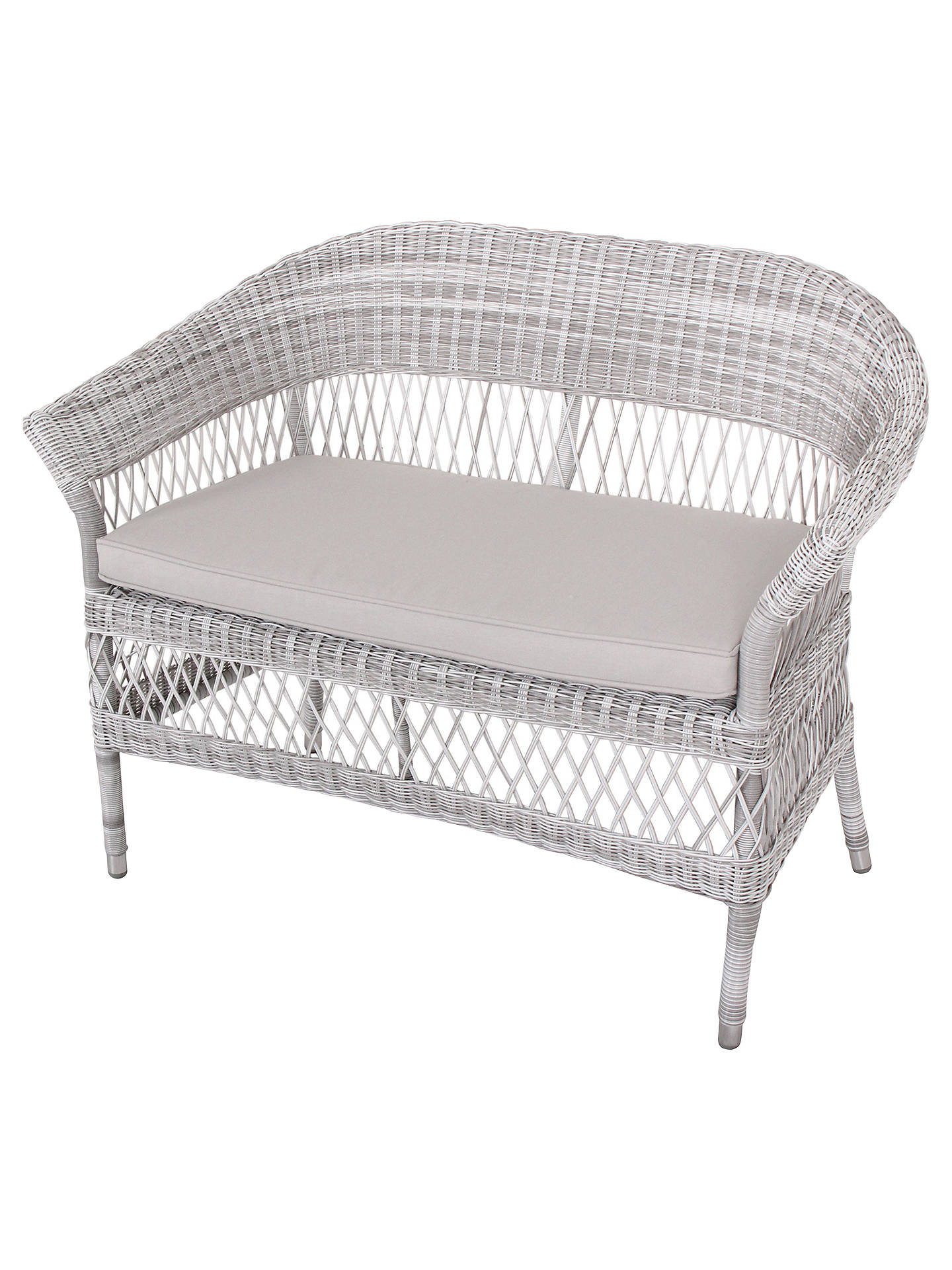 ... BuyJohn Lewis Hera 2 Seater Wicker Sofa Online At Johnlewis.com ...