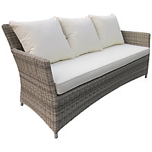 Buy John Lewis Dante 3 Seater Outdoor Sofa Online at johnlewis.com