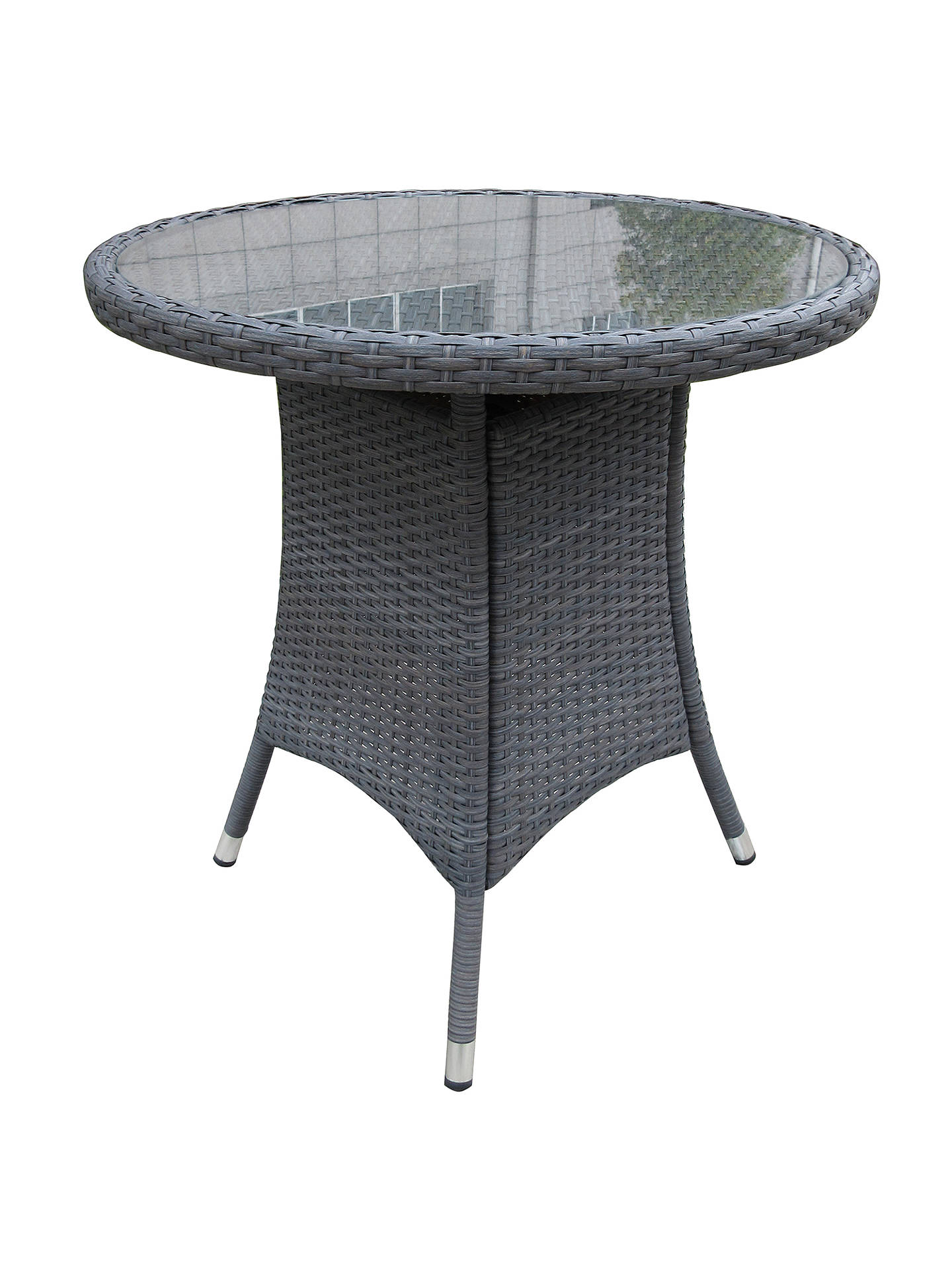 BuyJohn Lewis & Partners Malaga 2-Seater Bistro Table, Grey Online at johnlewis.com