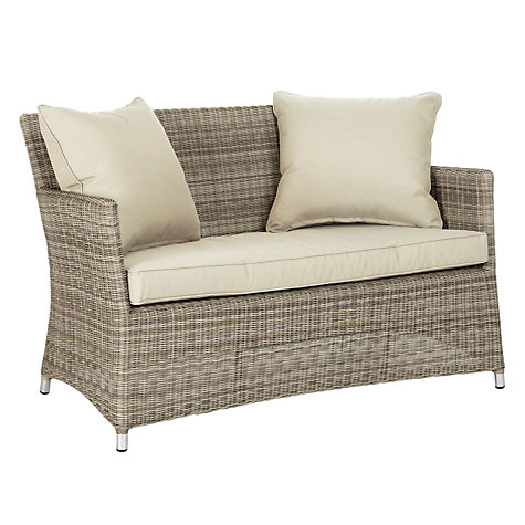Buy john lewis dante 2 seater outdoor sofa john lewis for Patio furniture covers john lewis