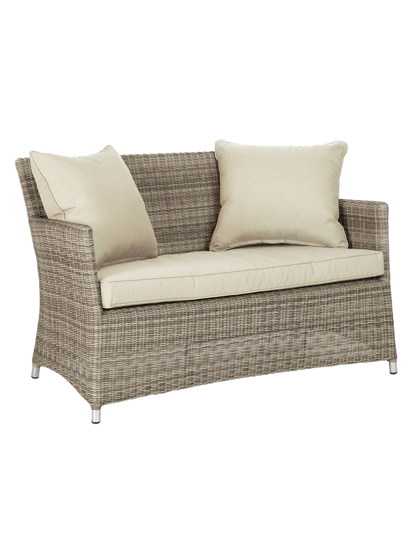 John Lewis & Partners Dante 2 Seater Outdoor Sofa at John Lewis ...