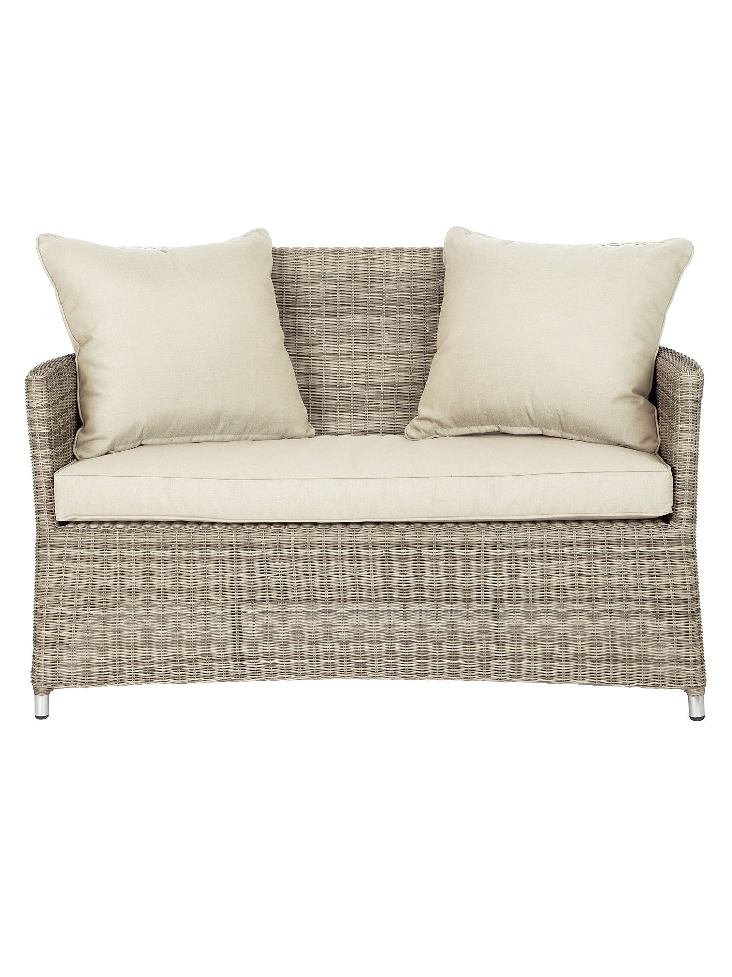 BuyJohn Lewis & Partners Dante 2 Seater Outdoor Sofa, Natural Online at johnlewis.com