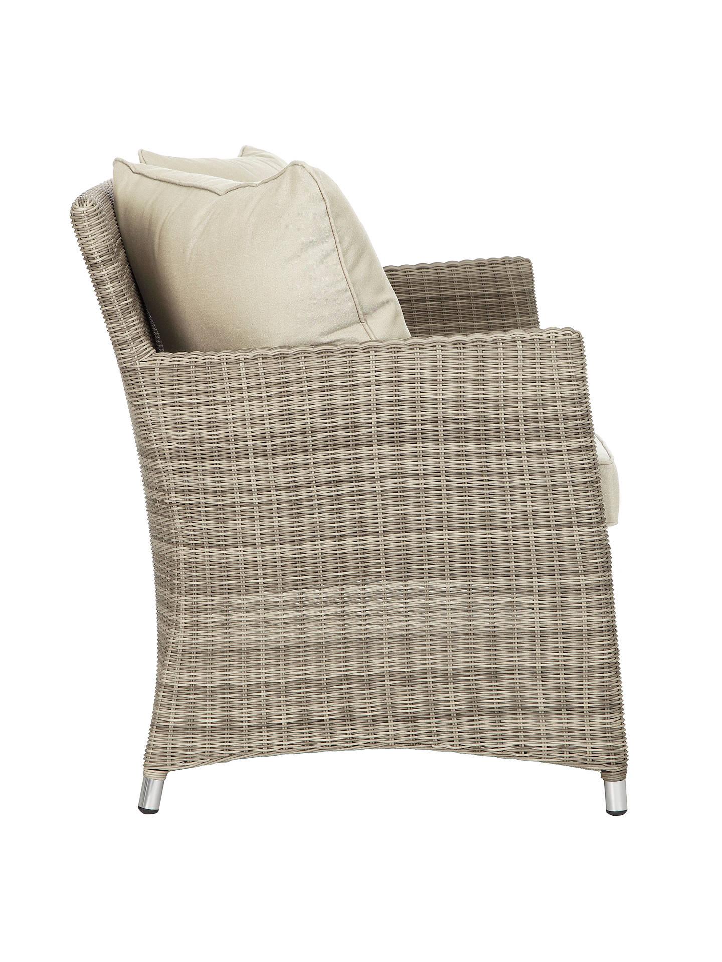 Magnificent John Lewis Partners Dante 2 Seater Garden Sofa Natural Dailytribune Chair Design For Home Dailytribuneorg