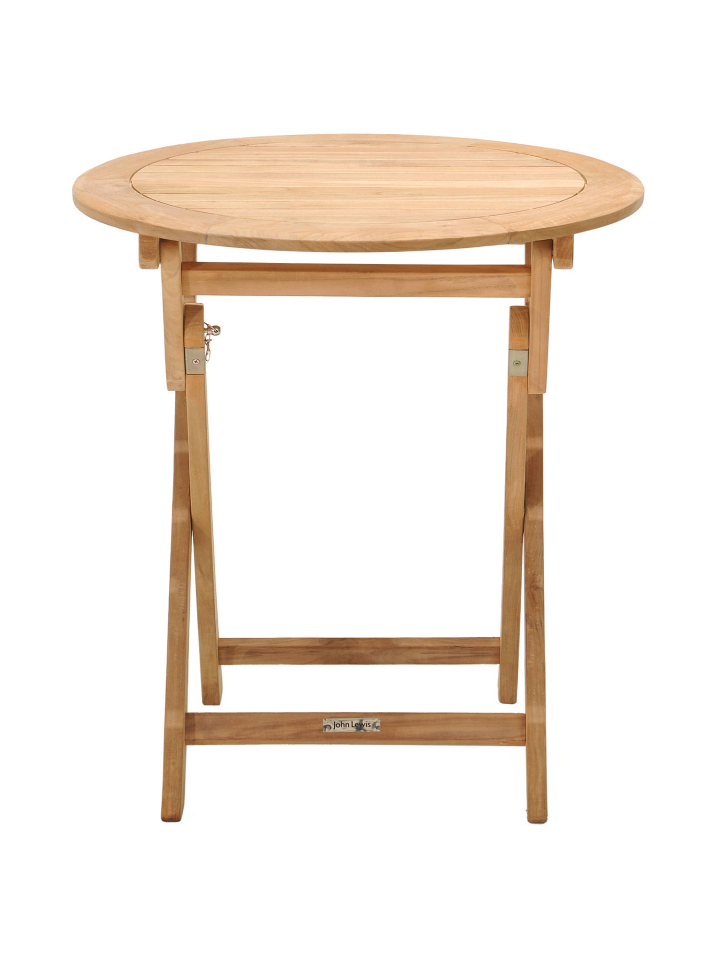 BuyJohn Lewis & Partners Longstock Bistro 2 Seater Dining Table Online at johnlewis.com
