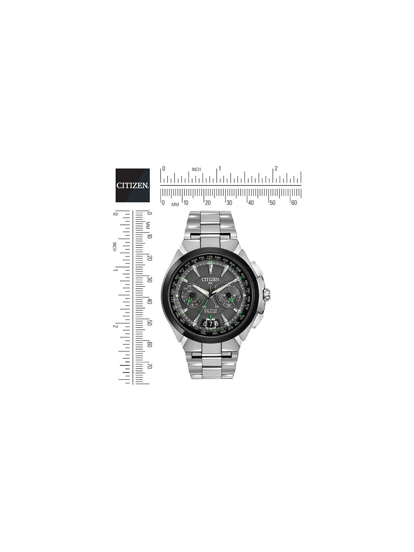 Citizen Satellite Wave CC1084-63E Men's Chronograph Eco