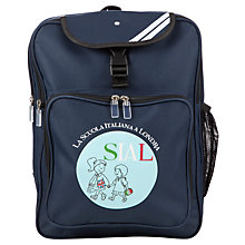 Buy La Scuola Italiana A Londra Backpack, Navy Online at johnlewis.com