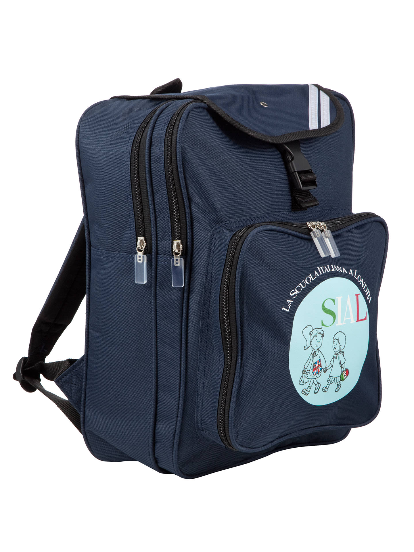 BuySIAL School Backpack, Navy Online at johnlewis.com