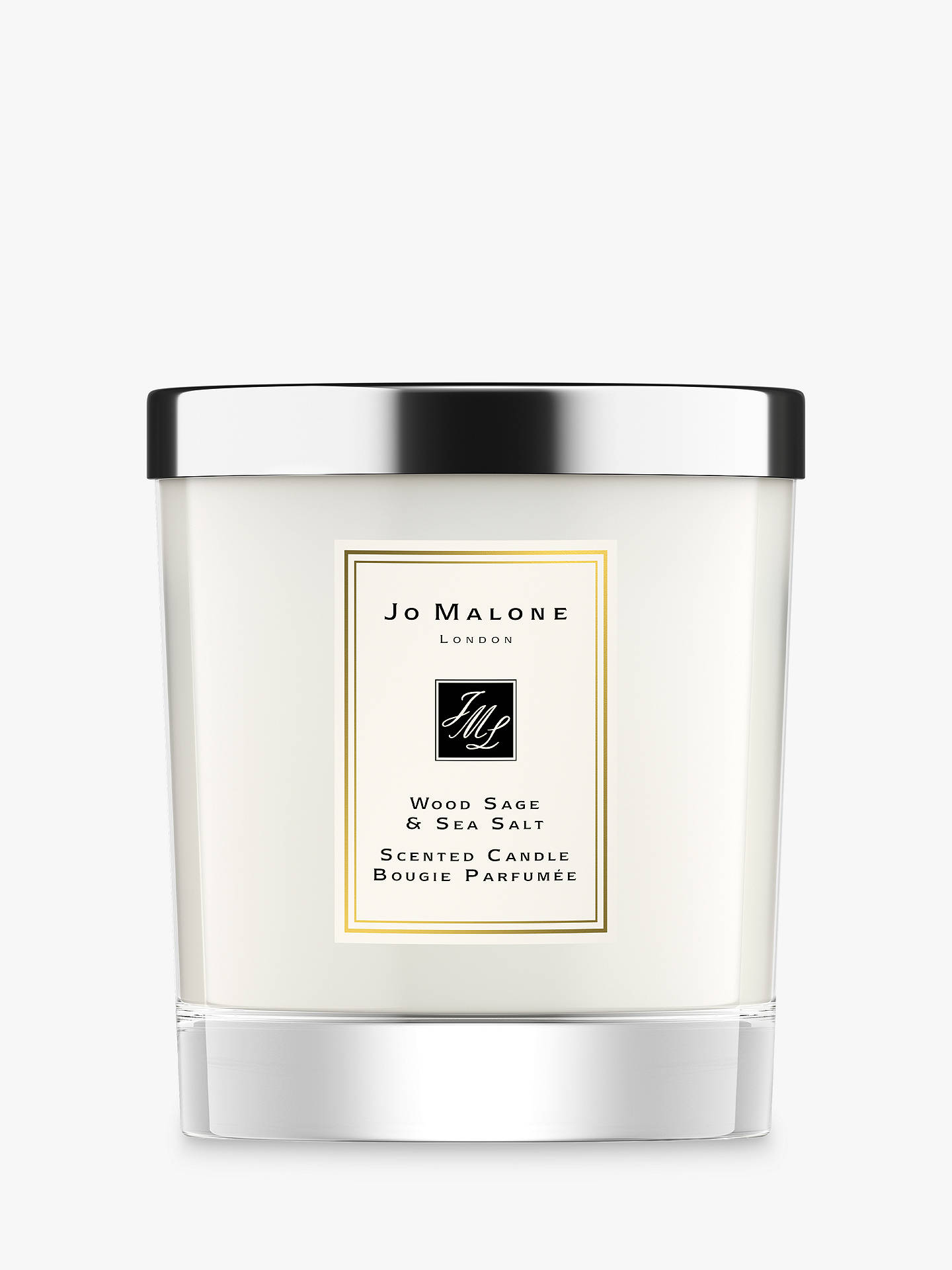 BuyJo Malone London Wood Sage & Sea Salt Candle Online at johnlewis.com