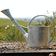Buy Burgon & Ball Galvanised Water Can, 9L Online at johnlewis.com