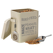 Buy Burgon & Ball Bird Feed Tin, Cream Online at johnlewis.com