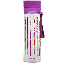 Buy Aladdin Aveo Bottle, Clear/Mulberry, 600ml Online at johnlewis.com
