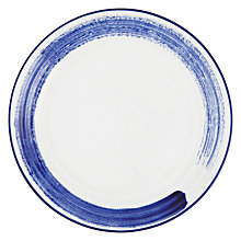 Buy John Lewis Coastal Accent 28cm Dinner Plate Online at johnlewis.com