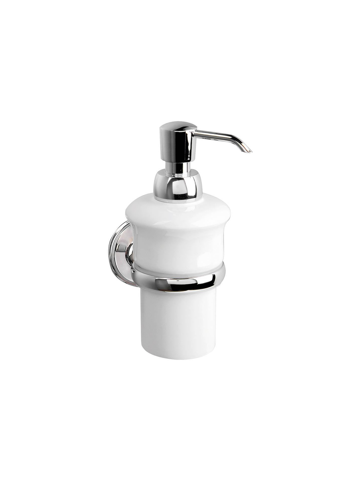 Miller Stockholm Ceramic Wall Mounted Soap Dispenser And Holder At