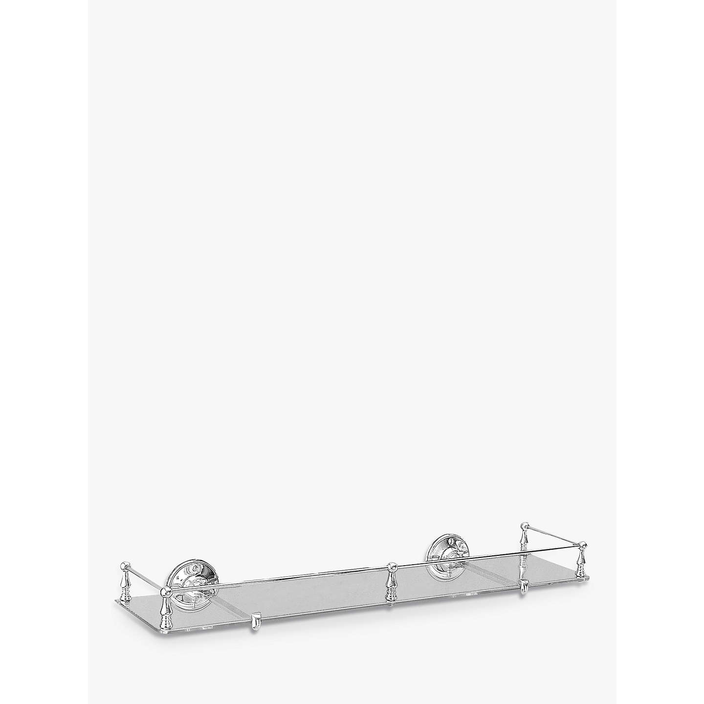 Miller Stockholm Glass Shelf With Rail At John Lewis