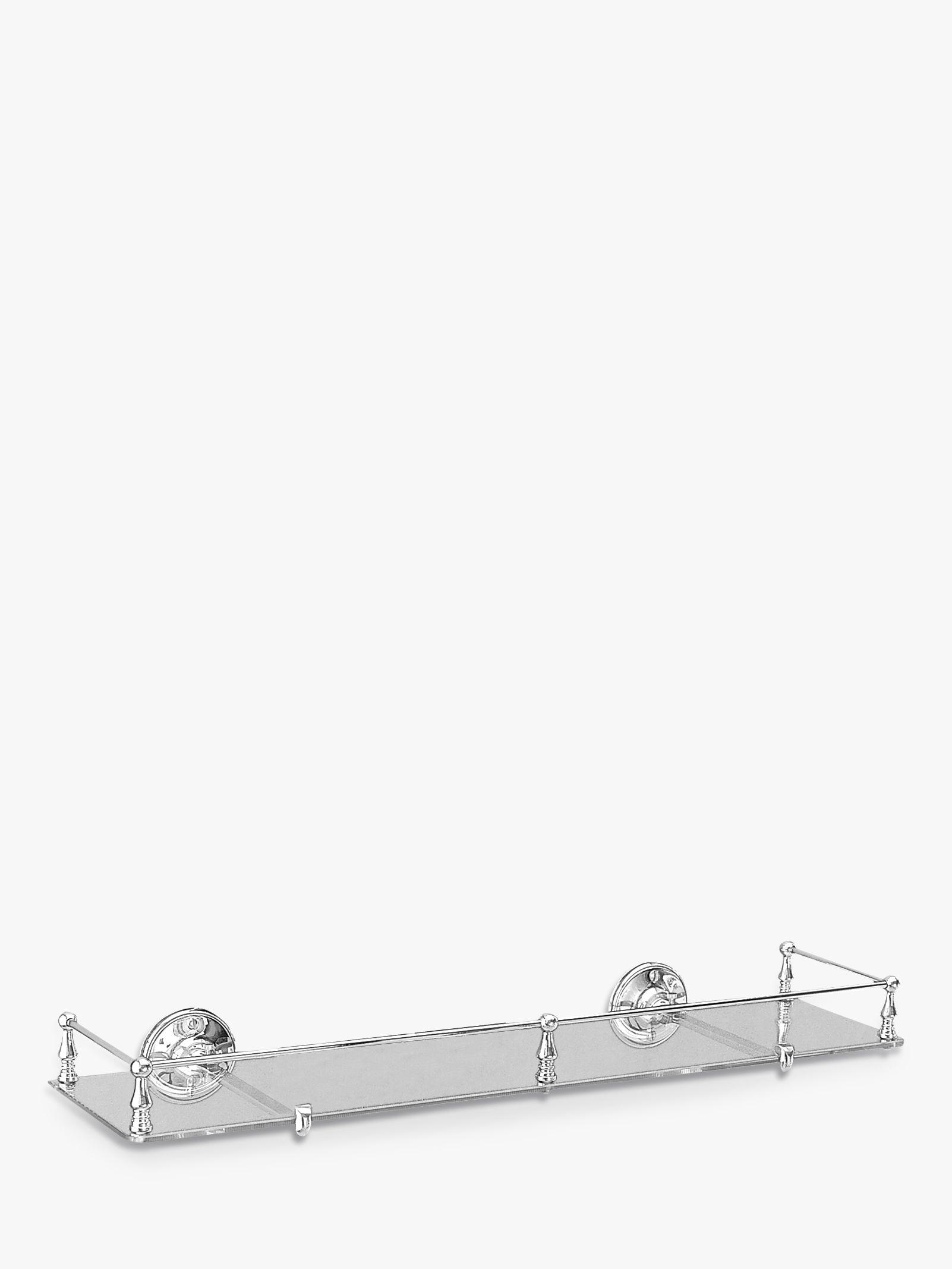 Miller from Sweden Miller Stockholm Glass Shelf with Rail