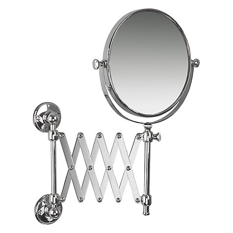 extending bathroom mirror buy miller stockholm extending magnifying mirror 12808