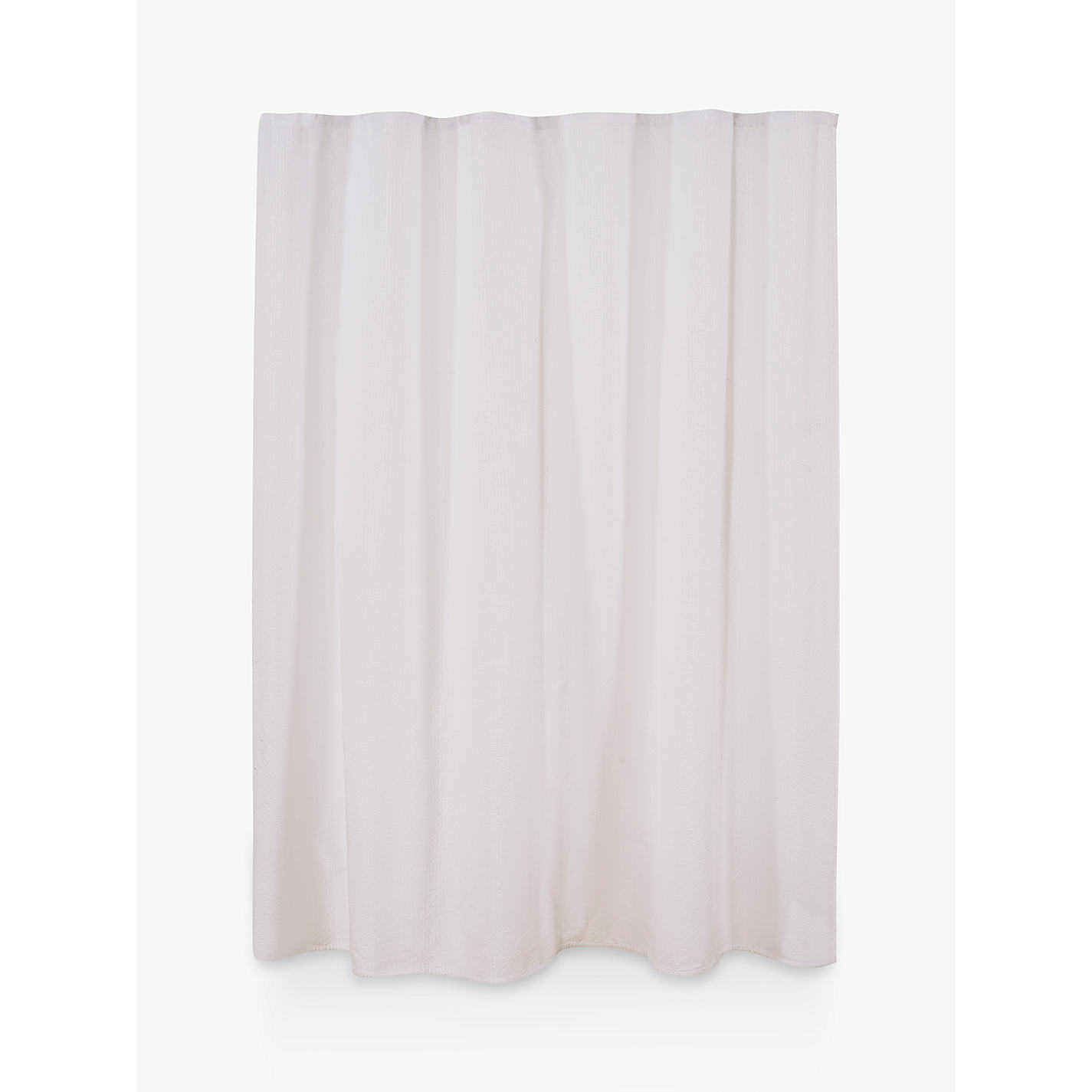Buy Croft Collection Seersucker Shower Curtain Online At Johnlewis