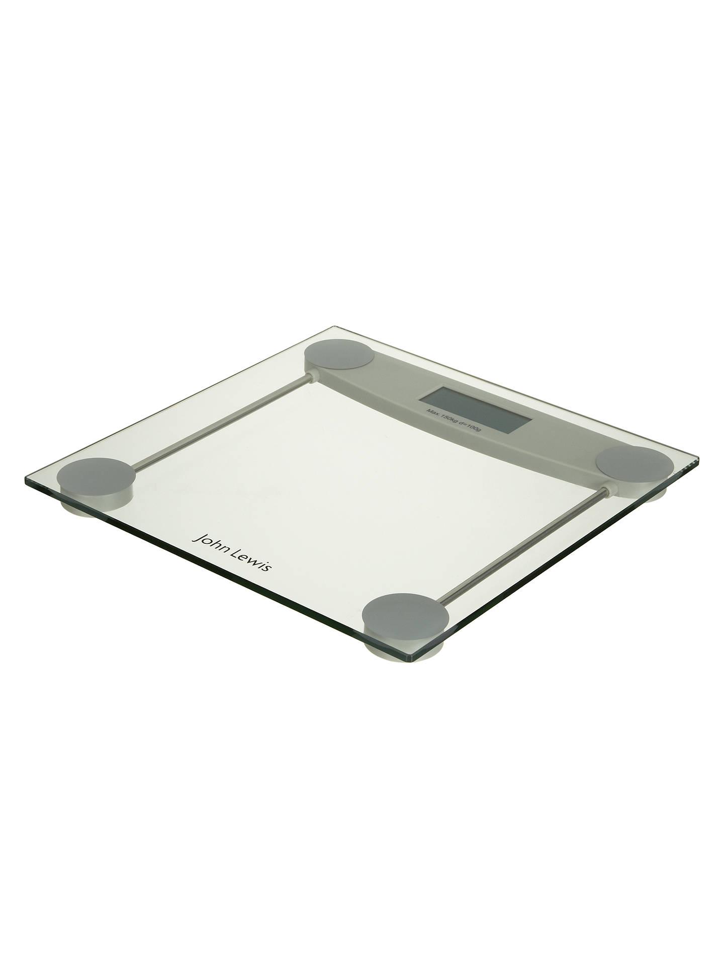 John Lewis Digital Glass Bathroom Scale At John Lewis Partners