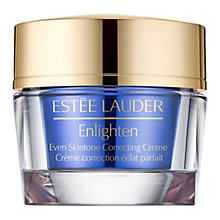 Buy Estée Lauder Enlighten Even Skintone Creme, 50ml Online at johnlewis.com