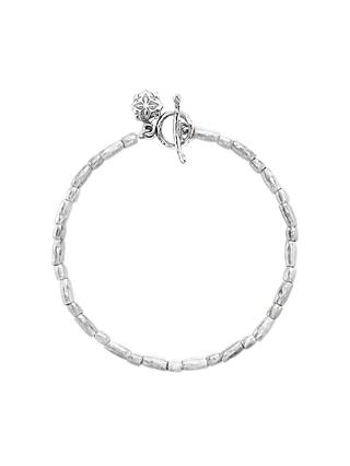 Dower & Hall Caraway Sterling Silver Rice Bracelet