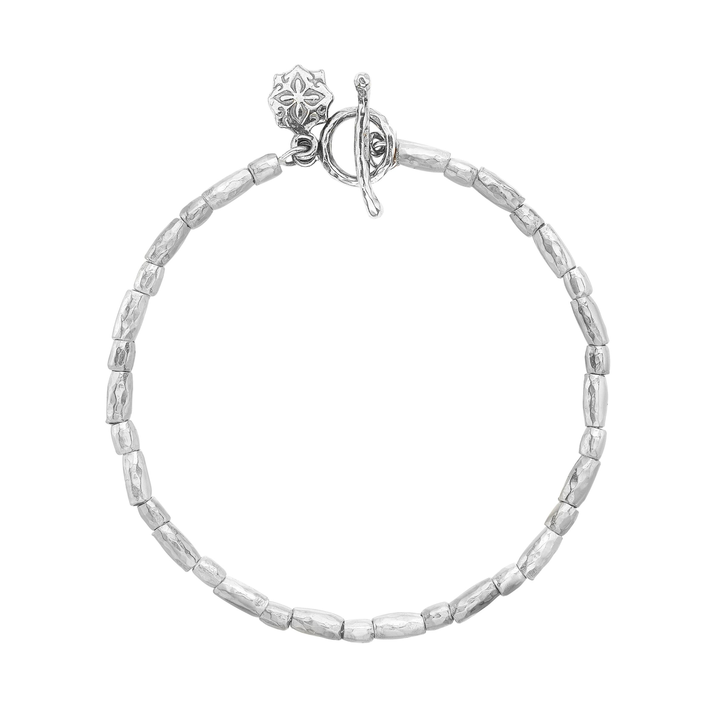 Dower & Hall Dower & Hall Caraway Sterling Silver Rice Bracelet