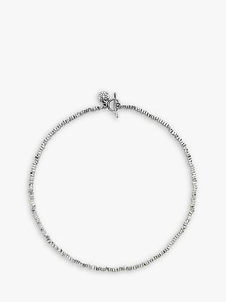 Dower & Hall Sterling Silver Kube Necklace