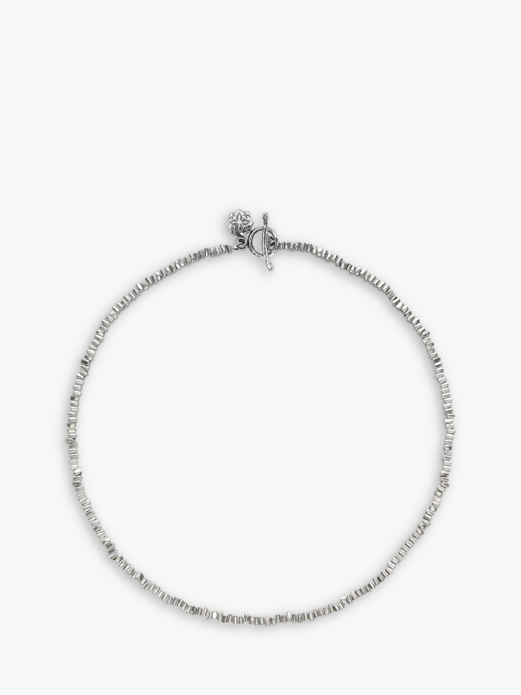 Dower & Hall Dower & Hall Sterling Silver Kube Necklace