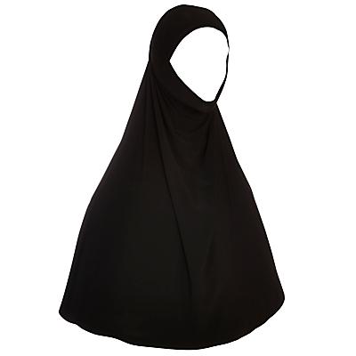 Two Piece Hijab, Black