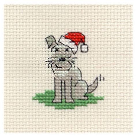 Buy Mouseloft Little Dog S Christmas Cross Stitch With