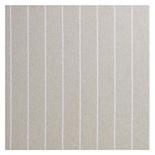 Buy Lindarva Stripe Fabric, Natural, Price Band B Online at johnlewis.com