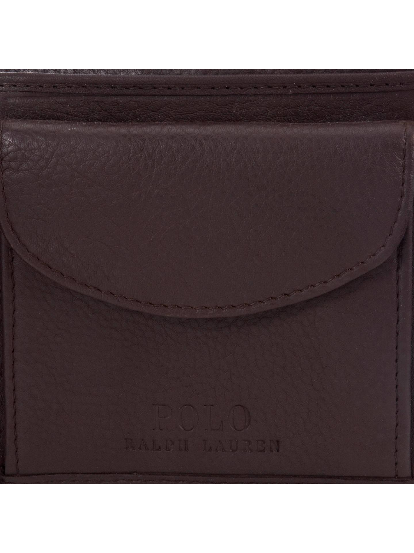 72539a6d Polo Ralph Lauren Pebble Leather Wallet, Brown