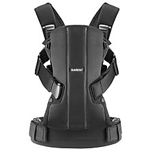 Buy BabyBjörn We Baby Carrier, Black Online at johnlewis.com