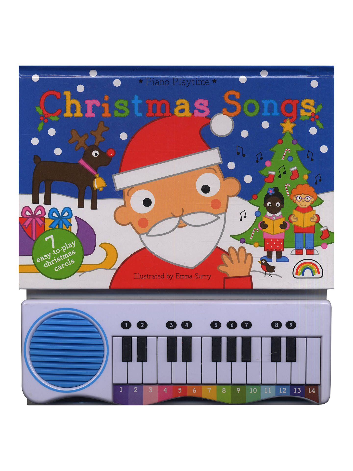 Piano Playtime Christmas Songs Music Book at John Lewis & Partners