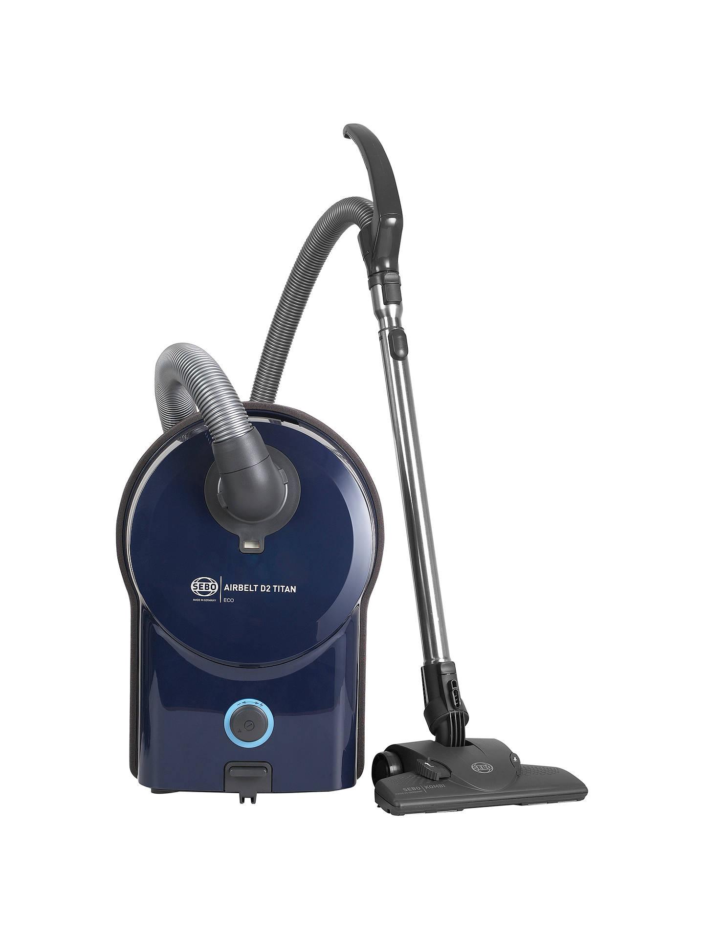sebo d2 titan eco cylinder vacuum cleaner at john lewis. Black Bedroom Furniture Sets. Home Design Ideas