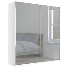 Buy John Lewis Elstra 200cm Wardrobe with Mirrored Sliding Doors Online at johnlewis.com