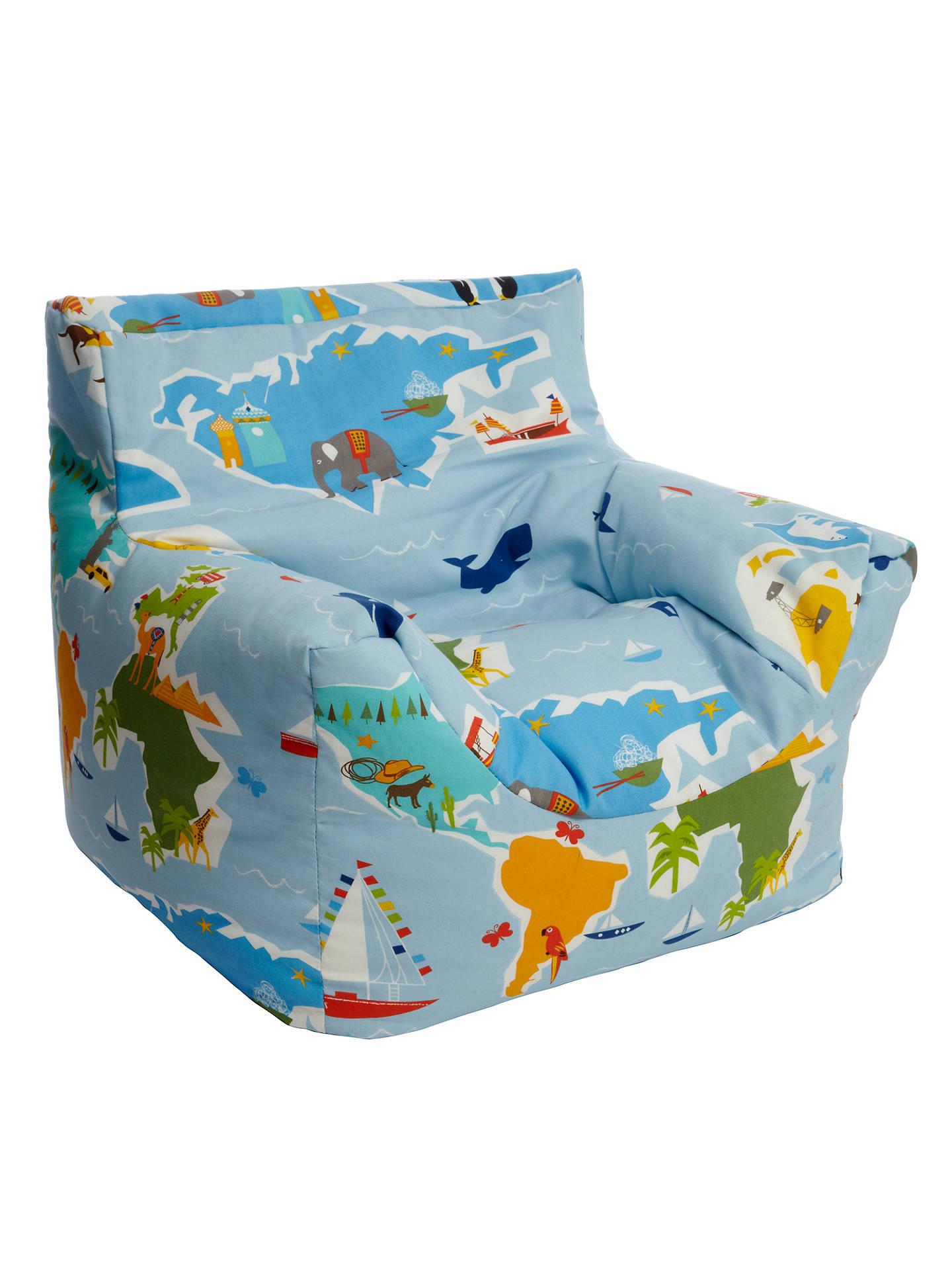 Little Home At John Lewis Globetrotter Bean Bag Chair At