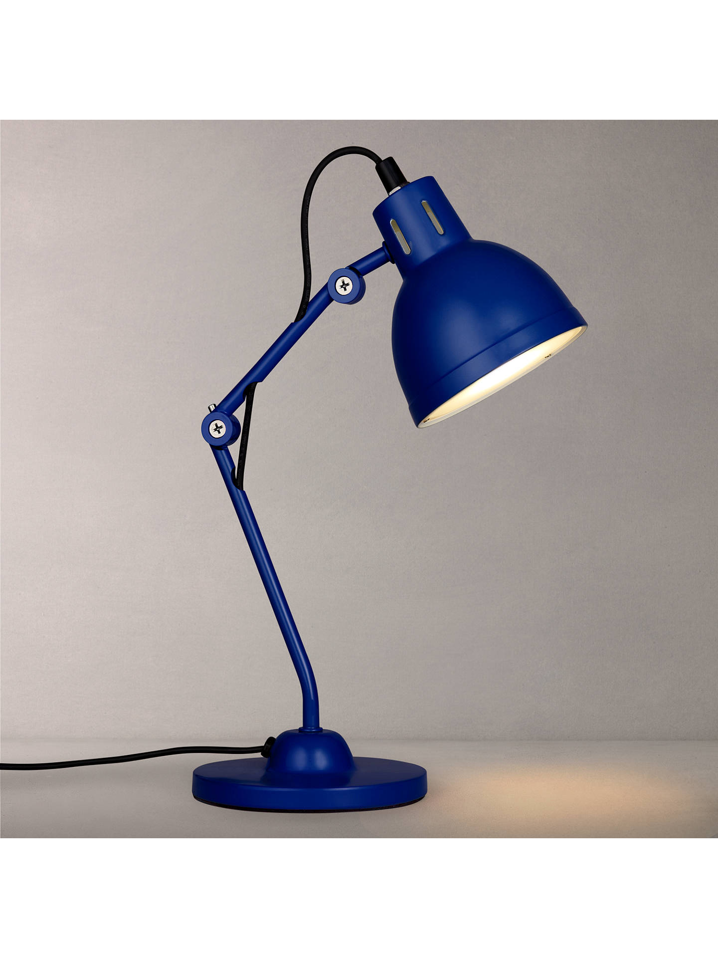 Buylittle home at John Lewis Children's Task Desk Lamp, Dark Blue Online at johnlewis.com