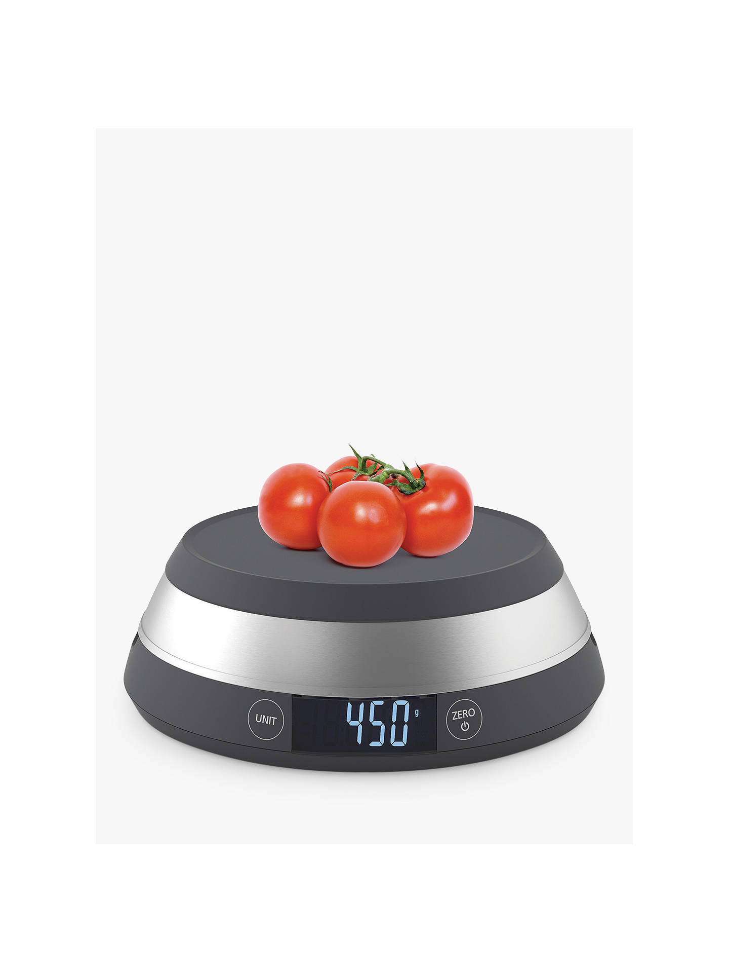 Buy Joseph Joseph SwitchScale Digital Kitchen Scale, Grey, 5kg Online at johnlewis.com