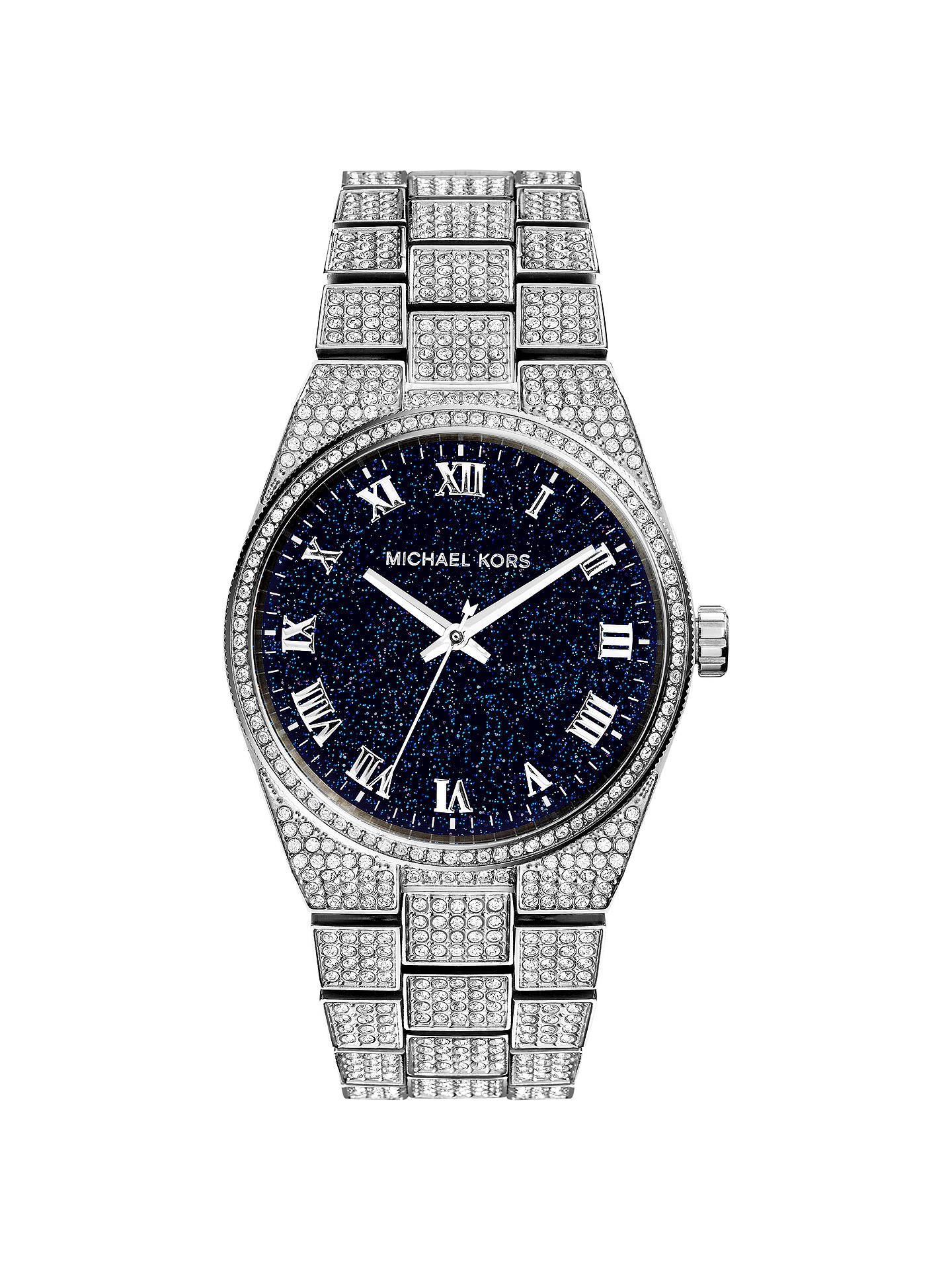 8a06caf915ff Buy Michael Kors Channing MK6089 Women s Pave Quartz Stainless Steel Watch