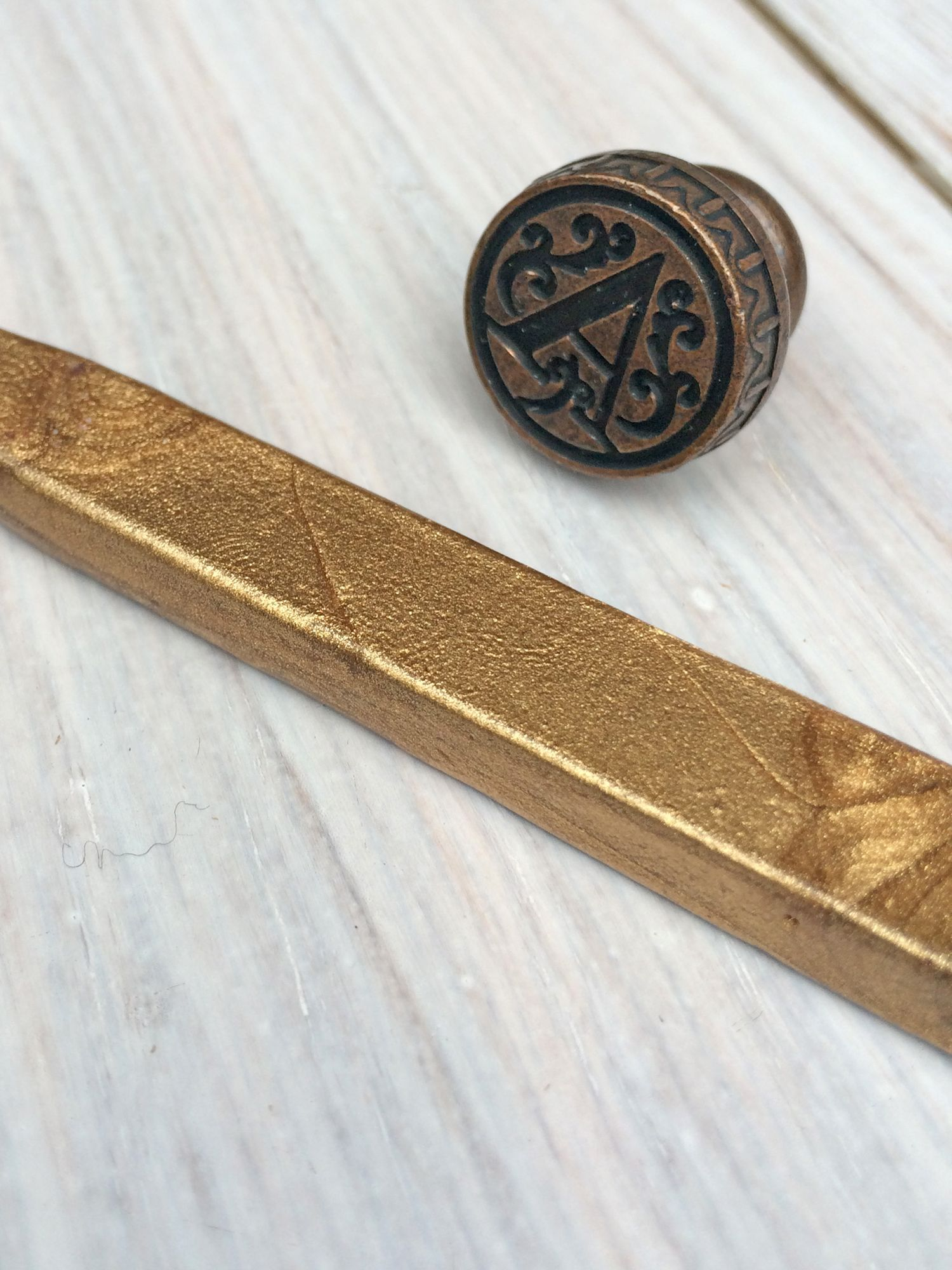 StompStamps StompStamps Personalised Brass Wax Seal Initial and Wax Stick