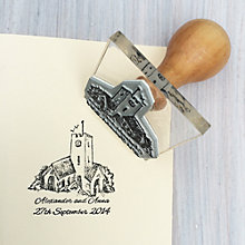 Buy StompStamps Personalised Church Wedding Stamp Online at johnlewis.com