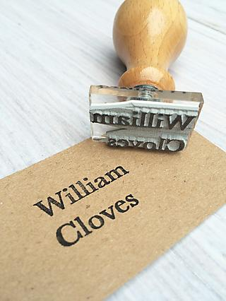 StompStamps Personalised Small Name Stamp